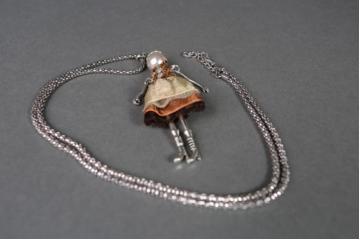 Doll necklace Alice