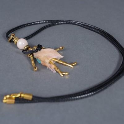 Doll necklace Daisy
