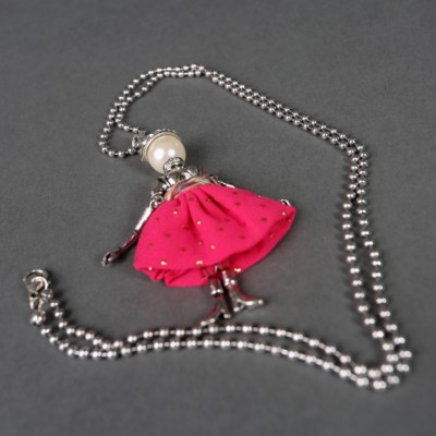 Doll necklace Maria