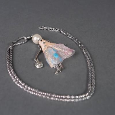 Doll necklace Olivia